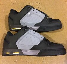 DVS Shoes Militia Heir Size 5 Grey Black Transom Havoc Skate Shoes $90 Box Price