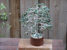 Large Green Aventurine Crystal Gemstone Tree Green Crystal Chips - Bonsai Tree