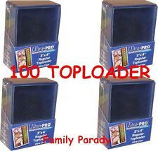 Lot 100 Toploader Ultra Pro Regular Protection Rigide Cartes POKEMON MTG YuGiOh
