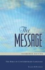 The Message Numbered Edition Hardback: The Bible in Contemporary Language by Eu