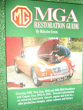 MG A SERIES MGA 1500 1600 Twin-Cam MKI II RESTORATION GUIDE RESTORE MANUAL 55-62