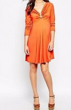 NWT ASOS Maternity Office Party Formal Lightweight Swing Dress Size 14 (L53)