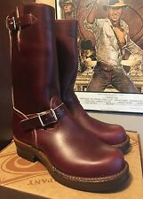 WESCO RJL LTD ENGINEER Boot Horween Horsehide COLOR 8 Chromexcel Amazing!  10.5