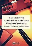 Quantitative Methods for Finance and Investments, Hasan, Iftekhar, Teall, John,