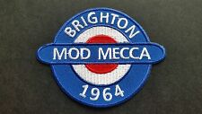 MOD SKA SCOOTER SEW ON / IRON ON PATCH:- PATCH No 1212 NAME TO FOLLOW