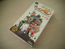YS Y'S III 3 FALCOM NINTENDO SFC SUPER FAMICOM IMPORT BRAND NEW OLD STOCK!