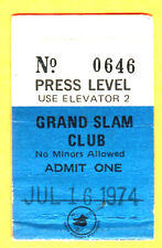 7/16/74 PADRES TICKET STUB-WINFIELD HR #17/MCCOVEY HR #422-BACK TO BACK TO BACK
