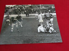 Early   RUGBY LEAGUE  Streaker Match ACTION  1980's  Original PRESS Photo