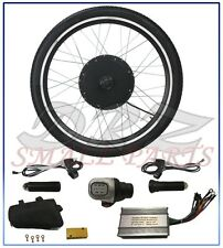 "36V 500W Electric Bicycle Motor Conversion Kit 26"" Ebike Cycling Rear Wheel Hub"