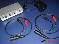 BeoGram RIAA Pre-Amp + Cables for Bang & Olufsen B&O BeoSound (Mk2)