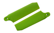 KBDD Neon Lime 72.5mm W/ 5mm Root Extreme Tail Rotor Blades - Trex 500 #4031