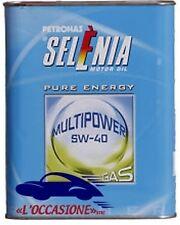 OLIO Selenia Multi Power Gas - 5W-40 - confezione da 1 litro