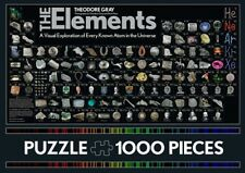 Elements 1000 Piece Jigsaw Puzzle Game Science Chemistry Fun Atom Periodic Table
