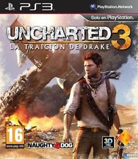 27272 // UNCHARTED 3 L'ILLUSION DE DRAKE POUR PS3 COMPLET EN TBE