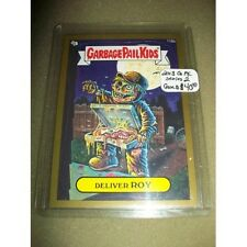 2013 Garbage Pail Kids BNS2 brand new Series 2, GOLD #116b Deliver Roy
