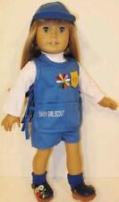 Daisy Girl Scout Uniform + SHOES Fits American Girl Dolls / 18 Inch Doll Outfit