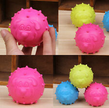 New Goodboy DR Latex Face Ball Balls UK Fetch Toy Bright Dog Puppy Toy