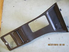 LINCOLN MARK VII LSC 87-92 1987-1992 CONSOLE DECK                              E