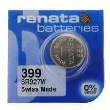 Expire 01/2018 USA SELLER 1 One 399 Renata SR927W WATCH BATTERY FREE SHIPPING