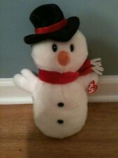 Ty Beanie Buddies Snowman Named Snowball