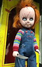 """CHUCKY 10"""" LIVING DEAD DOLL BOXED ACTION FIGURE MADE BY MEZCO IN 2012 HORROR"""