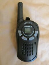 Single Micro Talk Cobra CXT125 16 Mile 22 Channel Walkie-Talkie - Works Great!!