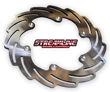 "STREAMLINE - SUZUKI RMX/RMZ LATE - MX ""BLADE"" REAR REPLACEMENT BRAKE ROTOR"