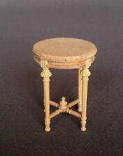 "Dollhouse Miniature ""BELLE"" END TABLE   MM-008-UF  DIRECT FROM BESPAQ"