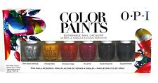 OPI Bendable Nail Lacquer Polish Color Paints 6 Color Mini Set 3.75 mL 1/8 oz