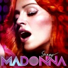 CDM - Madonna - Sorry (HOUSE DANCE) CD-Maxi-Single 3 TRACK MIXES MINT LISTEN