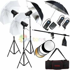 GODOX K-150A 450W Photography Studio Strobe Light Flash Lighting Trigger Kit