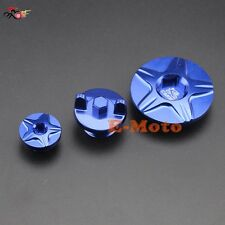 CNC Billet Engine Timing Oil Filter Plugs Kits For Yamaha YZ250F YZ450F YZ250FX