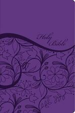 KJV Sisters in Faith Holy Bible---soft leather-look, grape (indexed)