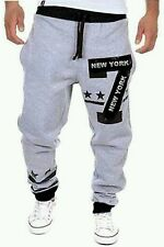 Mens track pants in stylish pattern