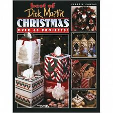 Dick Martin Christmas Plastic Canvas Book Over 60 Christmas Projects
