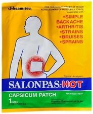 Salonpas Hot Capsicum Patch 50 each 2 packs CHEAPEST PRICE!
