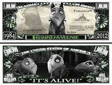 FRANKENWEENIE TIM BURTON BILLET MILLION DOLLAR! Collection Animation Walt Disney