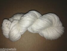 1 Skein Lush & Soft Mongolian Pure Cashmere 4 Ply Yarn Natural