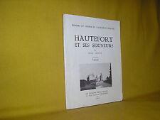 Hautefort et ses seigneurs par Gavelle Périgord Dordogne