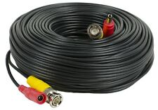 150ft CCTV Security Camera Cable Video Power Wire BNC RCA Cord DVR Surveillance