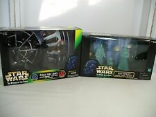 STAR WARS POTF2 LOT FINAL JEDI DUEL AND JEDI SPIRITS ANAKIN, YODA, OBI ~ MISB