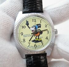 "MICKEY MOUSE,""My Man Friday"" Manual Wind,Unique MEN'S CHARACTER WATCH,440"