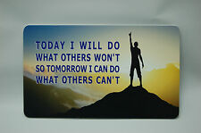 inspirational sign wall plaque motivational Office home decor
