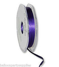 6mm x 20m Double Faced Satin Ribbon 30 Colours FreePost