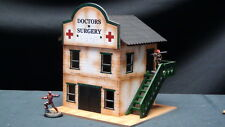 TTCombat - Wild West Scenics - WWS017 - Doctors Surgery, Great for Malifaux