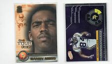 2-randy moss minnesota vikings card lot 2000 in your face 14 2001 statosphere 17