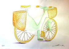 DENIS SANTACHIARA, Bicicletta di plastica, disegno,1978