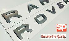 BRUNEL GREY RANGE ROVER EMBLEM LETTERING SPORT L322 P38 FRONT REAR EVOQUE