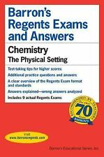Barron's Regents Exams and Answers: Chemistry : The Physical S (FREE 2DAY SHIP)