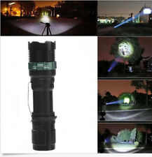 High Power 3000Lumen Zoomable XML Q5 LED Flashlight Torch Zoom Light Adjustable